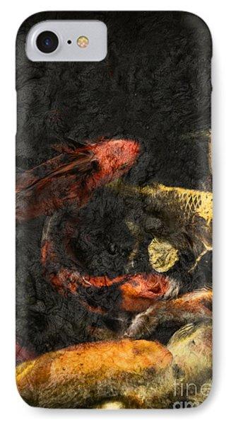 Koi Pond IPhone Case by Margie Hurwich