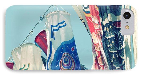 Koinobori Flags IPhone Case by Rachel Mirror