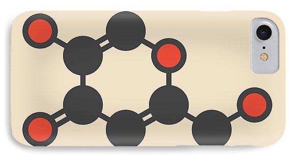 Kojic Acid Molecule IPhone Case by Molekuul