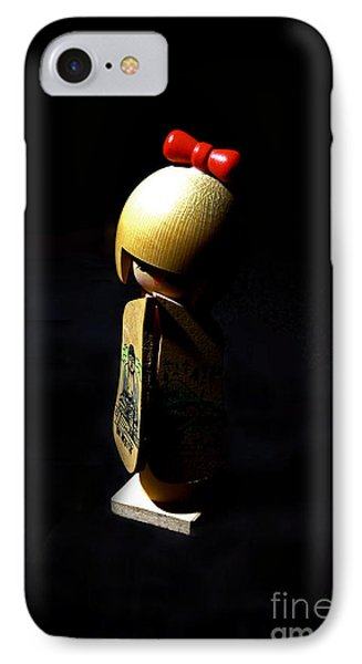 IPhone Case featuring the photograph Kokeshi by Lawrence Burry