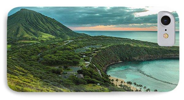 Koko Head Crater And Hanauma Bay 1 IPhone Case
