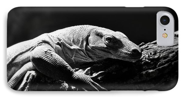 IPhone Case featuring the photograph Komodo Dragon by Lisa L Silva
