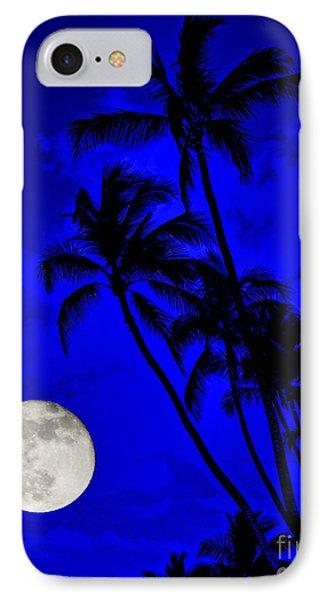 Kona Moon Rising IPhone Case by David Lawson