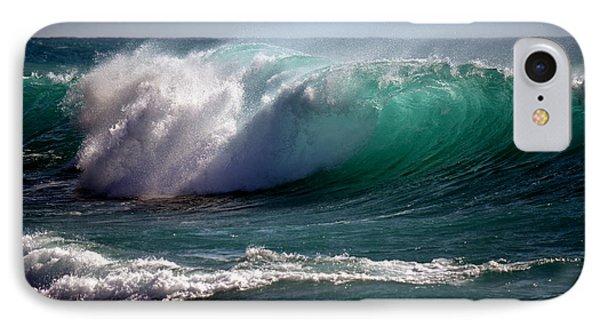 Kona Wave IPhone Case by Lori Seaman