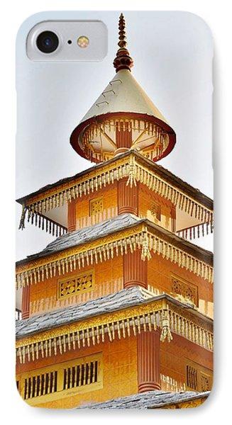 Kondar Devata Temple Phone Case by Kim Bemis
