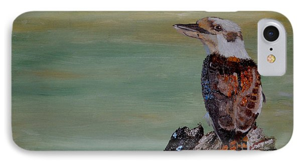 Kookaburra IPhone Case by Zilpa Van der Gragt