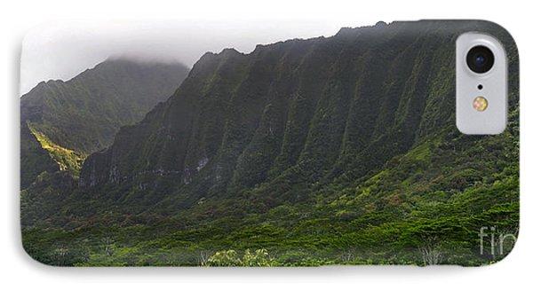 Ko'olau Mountain Range IPhone Case by Gina Savage