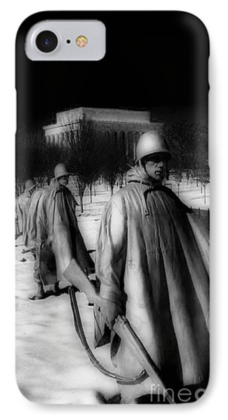 Korean Memorial IPhone Case by Skip Willits