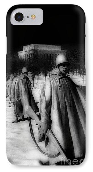 Whitehouse iPhone 7 Case - Korean Memorial by Skip Willits