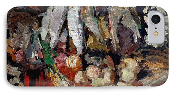 Korovin Fishes, 1916 IPhone Case by Granger