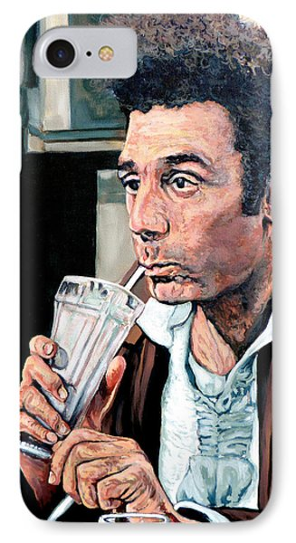 Kramer IPhone Case by Tom Roderick