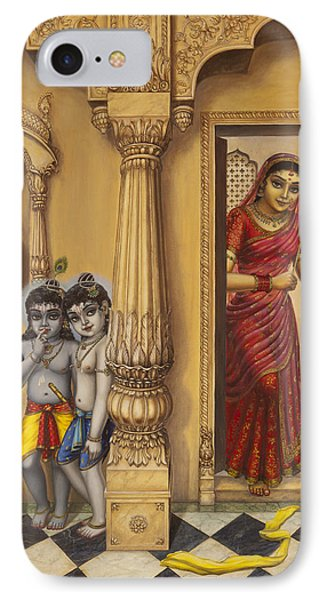 Krishna And Ballaram Butter Thiefs IPhone Case