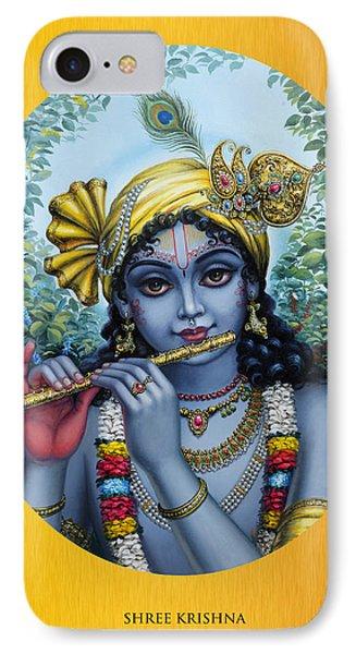 Krishna Phone Case by Vrindavan Das