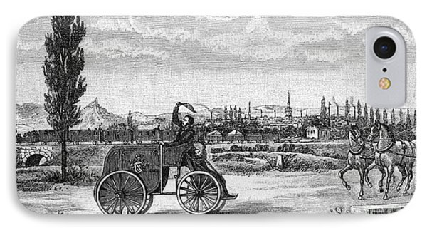 Kroener's Driving Machine, 1840s IPhone Case