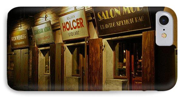 Kroke - Kazimierz - Krakow - Gesher Galicia - Shalom. .the Jewish Life In Krakow. Viewed 224 Times  Phone Case by  Andrzej Goszcz
