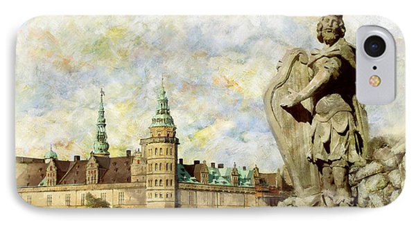 Kronborg Castle Phone Case by Catf
