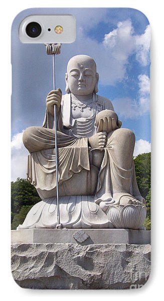 IPhone Case featuring the photograph Ksitigarbha by Cheryl McClure