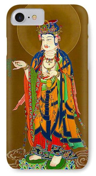 Kuan Yin Bodhisattva 1 IPhone Case by Lanjee Chee