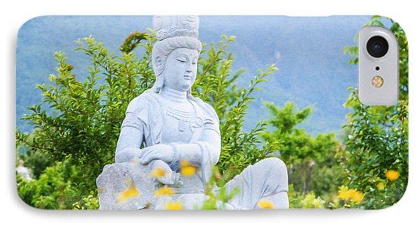 Kuan Yin Bodhisattva 2 IPhone Case by Lanjee Chee