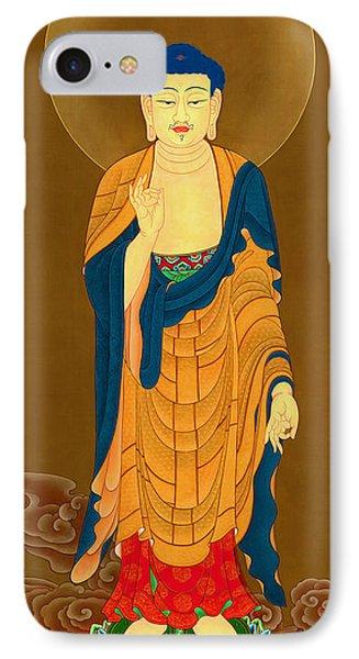 Kuan Yin Bodhisattva IPhone Case by Lanjee Chee