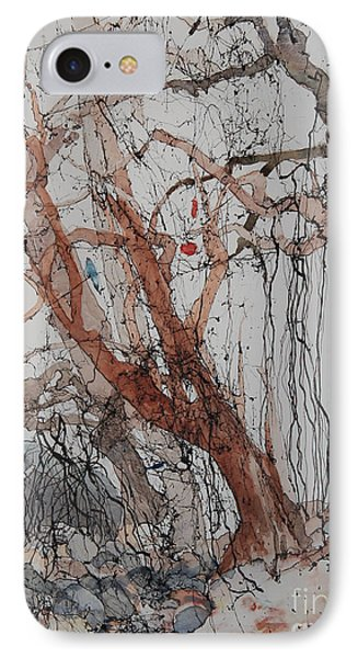 IPhone Case featuring the painting Kudzu Winter by Elizabeth Carr