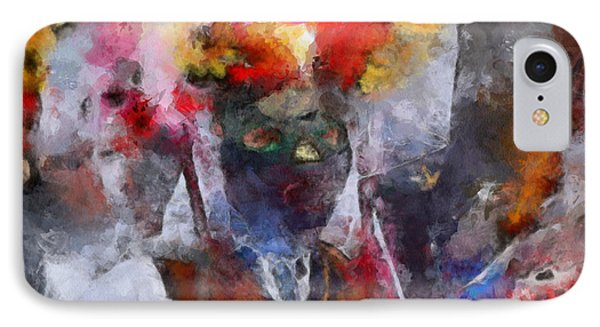 IPhone Case featuring the painting Kuker by Georgi Dimitrov