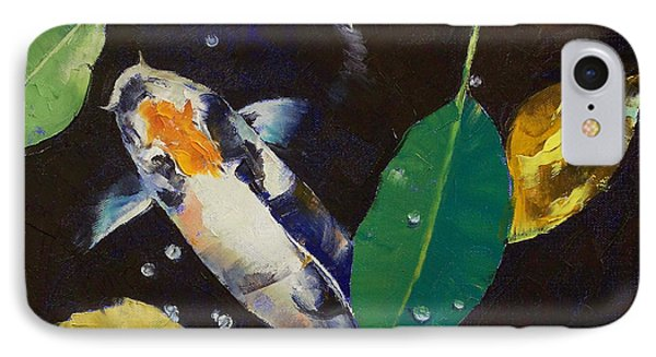 Kumonryu Koi Art Phone Case by Michael Creese