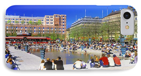 Kungstradgarden Park, Stockholm, Sweden IPhone Case by Panoramic Images