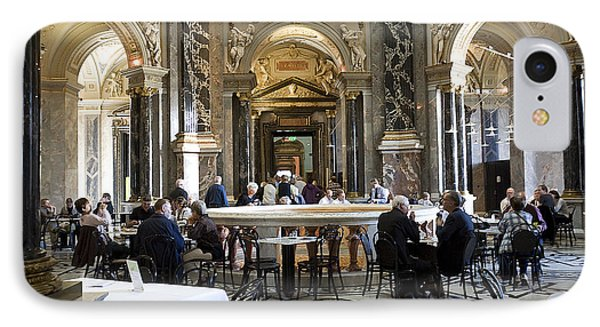 Kunsthistorische Museum Cafe II IPhone Case by Madeline Ellis