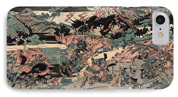 Kurikaradani Ogkassen Zu IPhone Case by Shunman, Kubo (1757-1820), Japanese