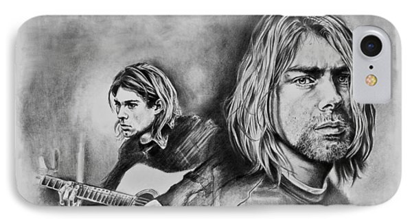 Kurt Cobain IPhone Case by Art Imago