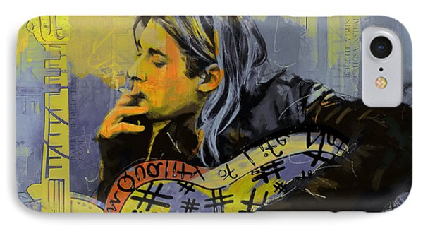 Kurt Cobain Phone Case by Corporate Art Task Force