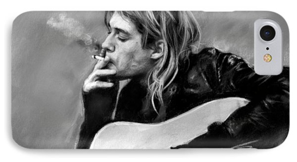 Kurt Cobain Guitar  IPhone Case