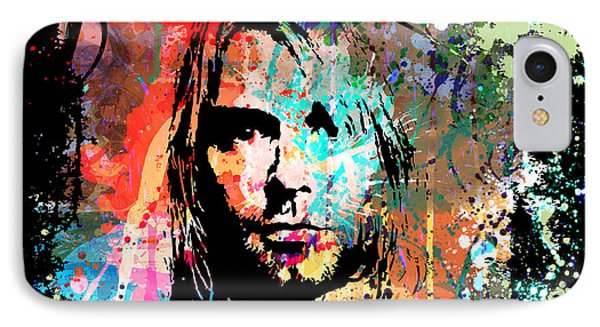Kurt Cobain Portrait IPhone Case