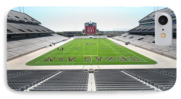 Kyle Field IPhone 7 Case by Georgia Fowler