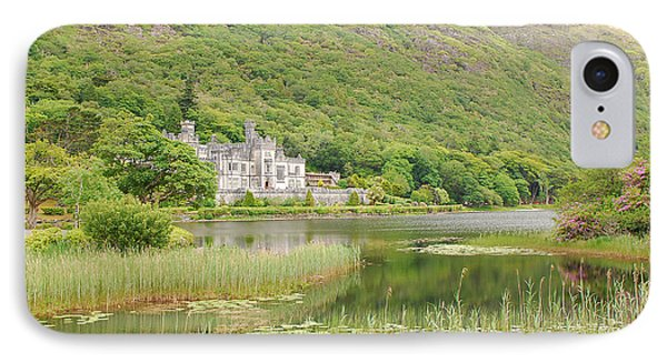 Kylemore Abbey 1 IPhone Case by Mary Carol Story