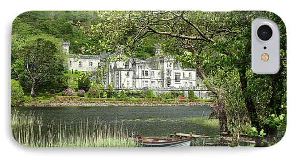 Kylemore Abbey IPhone Case by Butch Lombardi