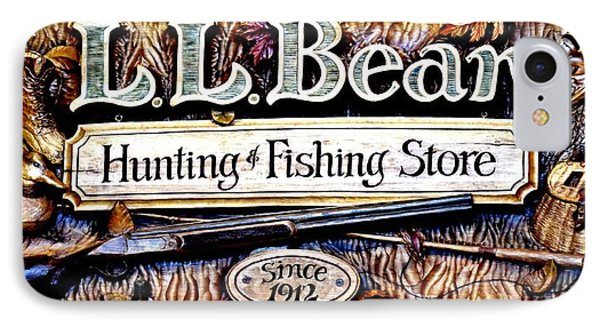 L. L. Bean Hunting And Fishing Store Since 1912 IPhone Case by Tara Potts