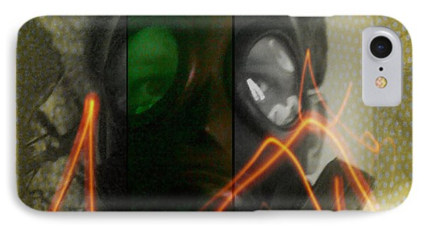 IPhone Case featuring the photograph L S D  Part Three by Sir Josef - Social Critic - ART