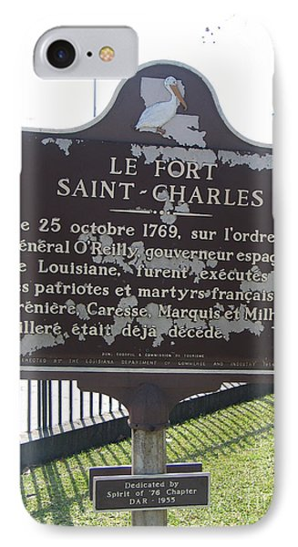 La-013 Le Fort Saint-charles Phone Case by Jason O Watson