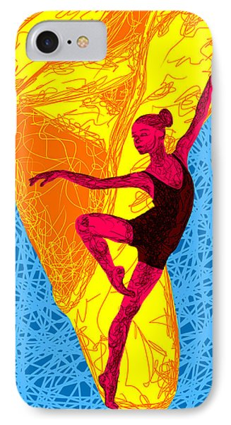 La Ballerina Du Juilliard Phone Case by Kenal Louis