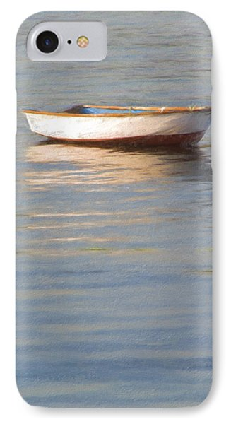 La Barque Au Crepuscule IPhone Case by Jean-Pierre Ducondi
