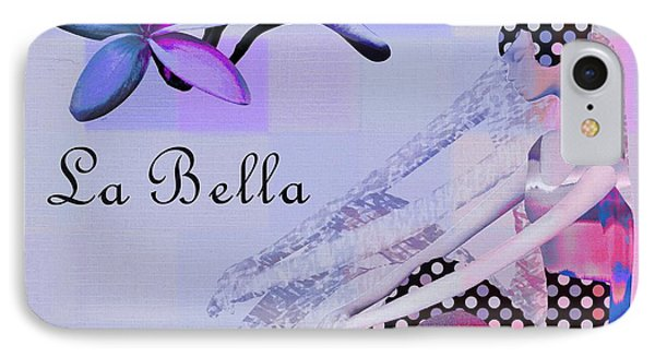 La Bella - J647152-04 IPhone Case by Variance Collections
