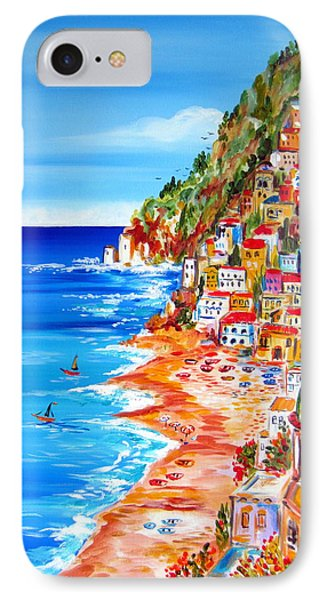 La Bella Positano Amalfi Coast IPhone Case