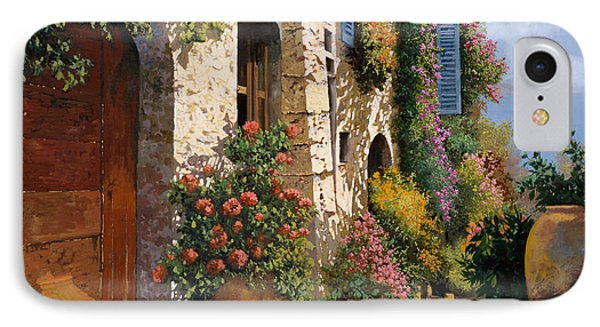 La Bella Strada IPhone Case by Guido Borelli