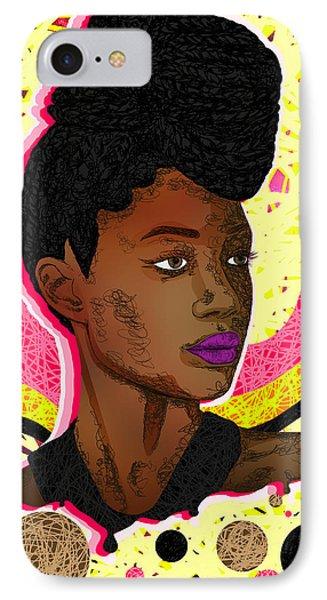 La Belle Tia Phone Case by Kenal Louis