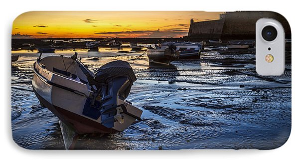 La Caleta Beach Cadiz Spain IPhone Case by Pablo Avanzini