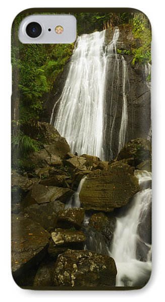 IPhone Case featuring the photograph La Coca Falls  by Photography  By Sai