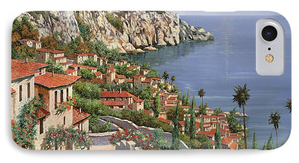 Landscapes iPhone 7 Case - La Costa by Guido Borelli
