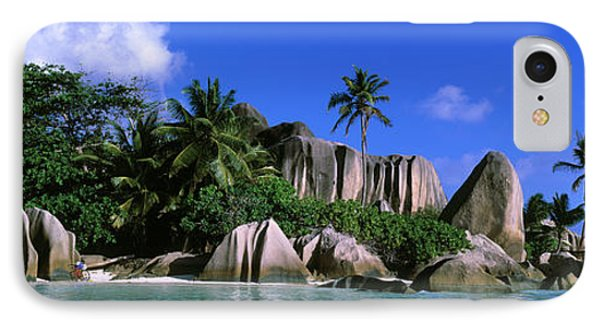 La Digue, Island, The Seychelles, Africa IPhone Case by Panoramic Images